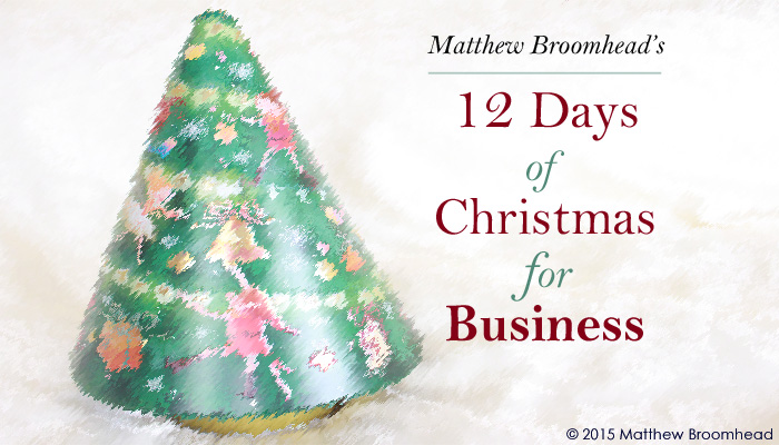 12 Days of Christmas for Business Image by Matthew Broomhead