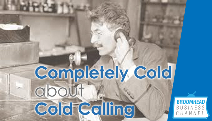 Cold about cold calling Image by Matthew Broomhead