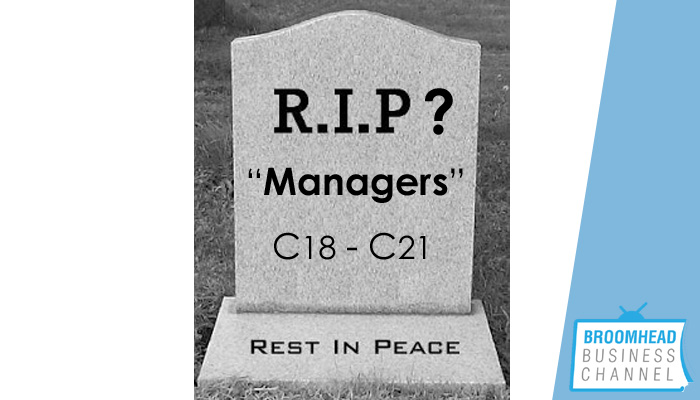 RIP Managers Image by Matthew Broomhead