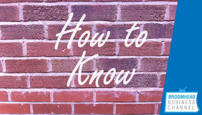 How to know when it's right Image by Matthew Broomhead