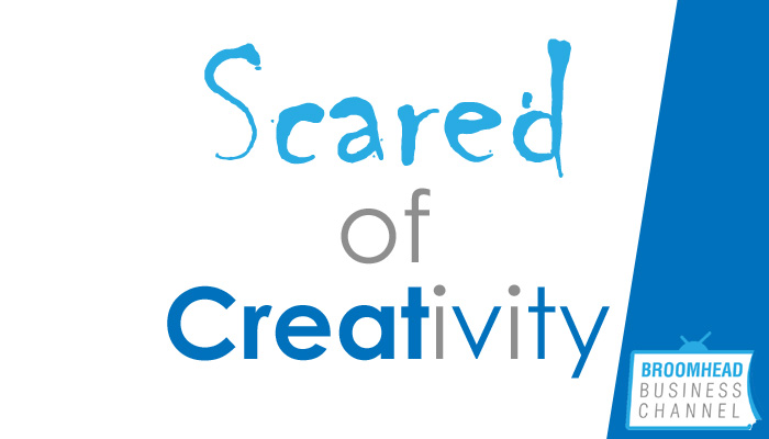 Scared of Business Creativity image by Matthew Broomhead