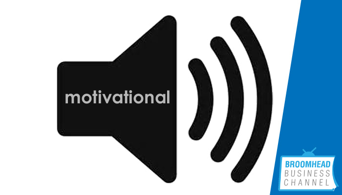 Motivational Speaker image by Matthew Broomhead